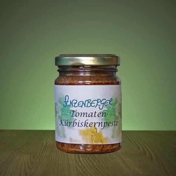 Tomaten-Kürbiskernpesto